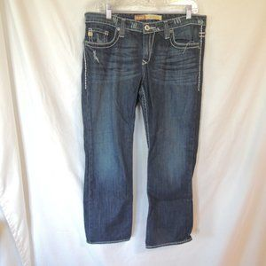BKE Maddie  stretch Womens mid rise fit jeans 32